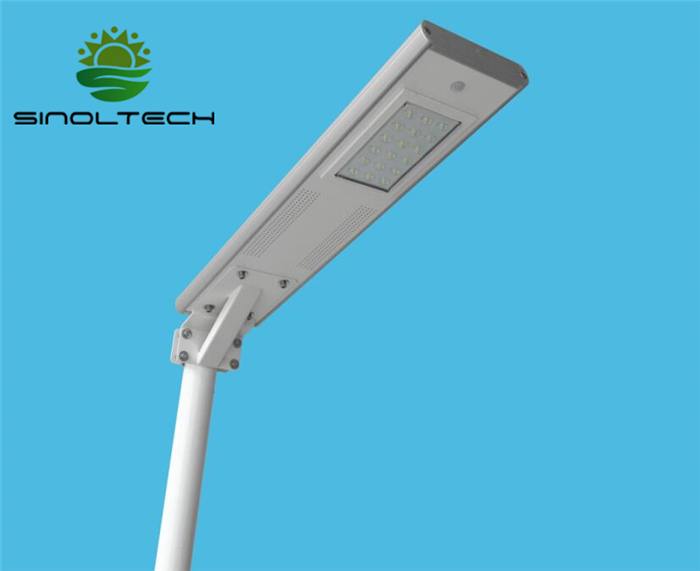 18W all in one solar street light