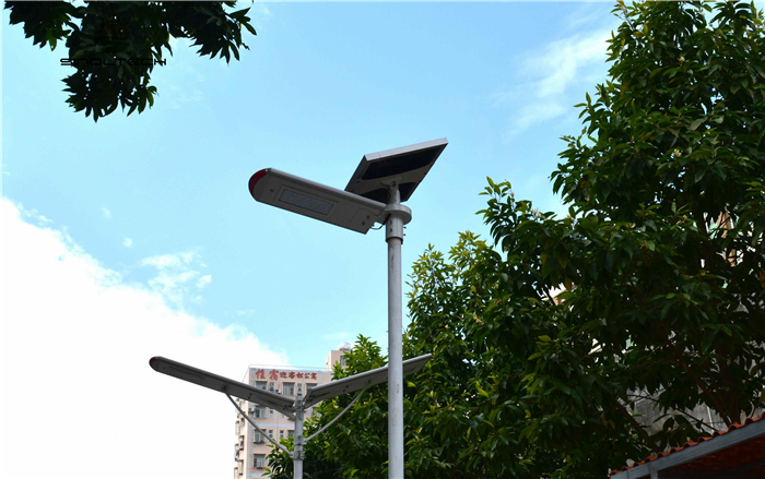 split type solar led light for street