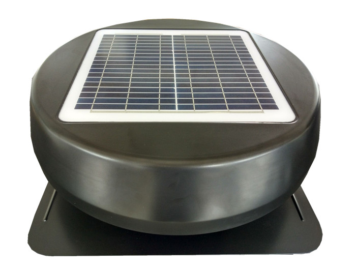 FIX solar panel power exhaust fan