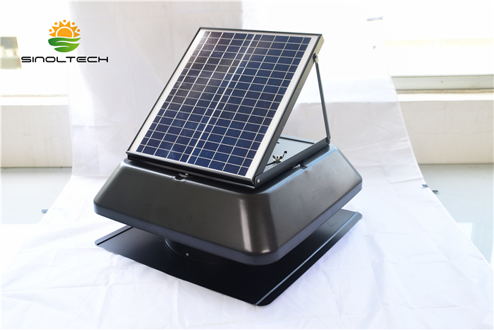 adjustable solar attic vent