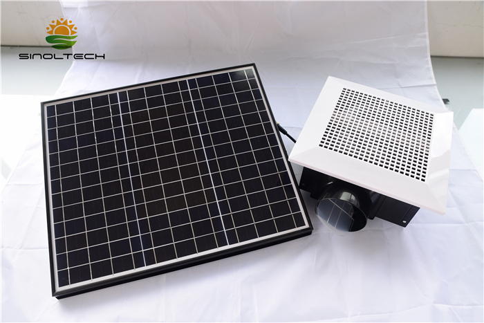 Solar air blower