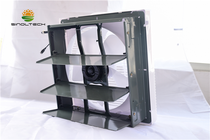 plastic solar indoor exhaust fan