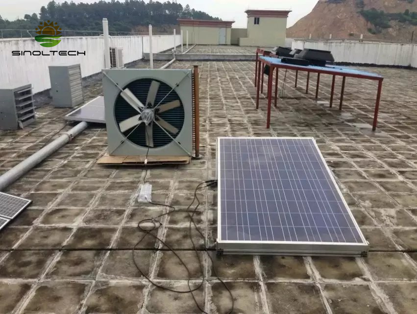 large scale solar ventilation system