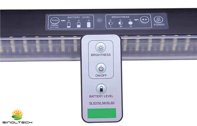 remote control solar led lighting system